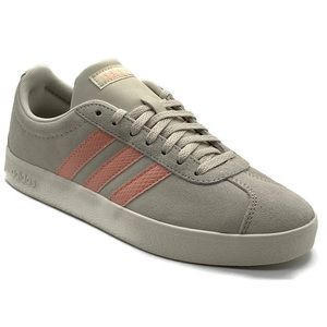 Adidas VL Court 2.0 Women's Leather Sneakers